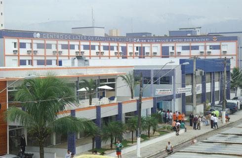 Centro de Lazer da Família Metalúrgica em Praia Grande