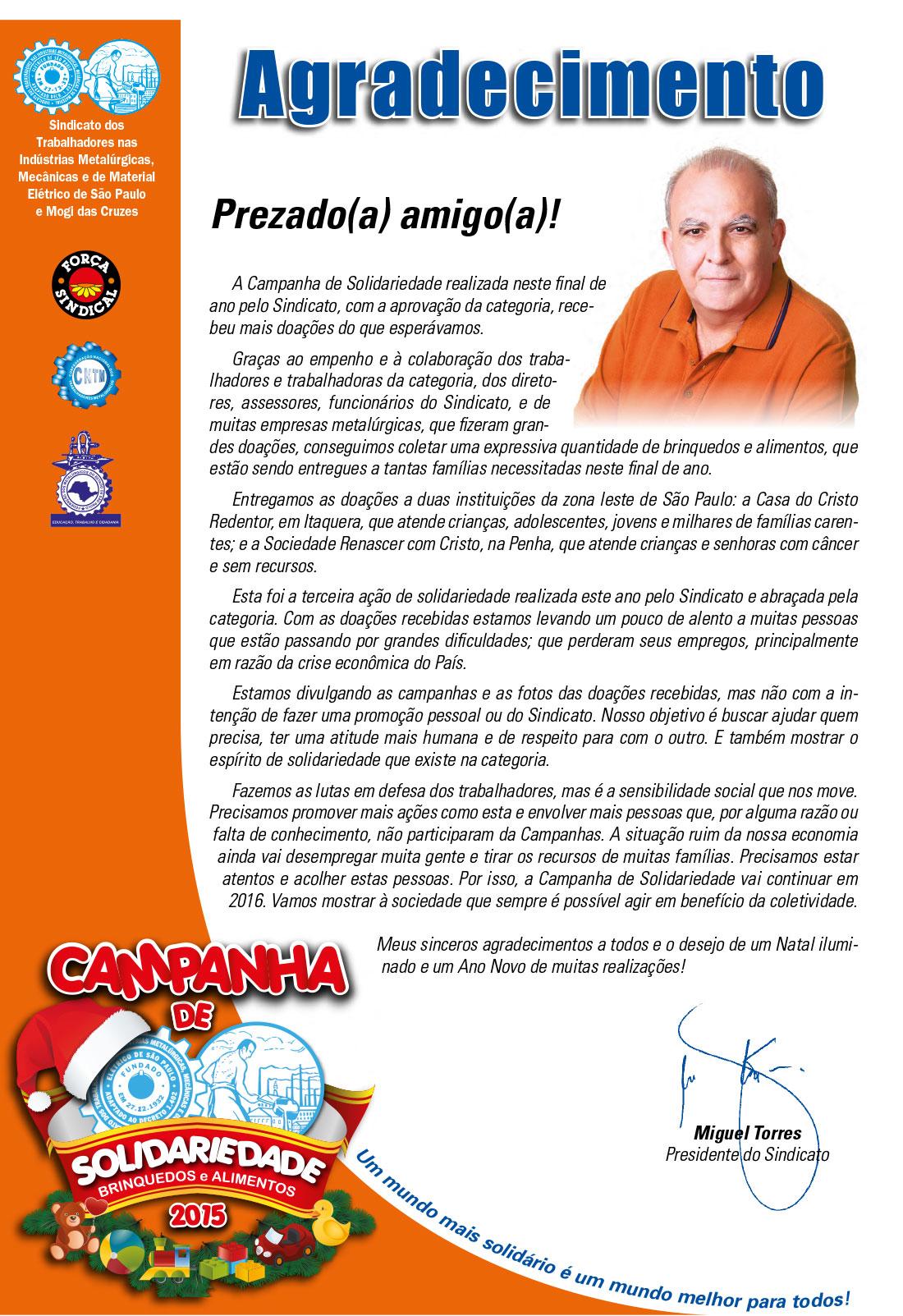 Well-known Sindicato dos Metalúrgicos de São Paulo e Mogi das Cruzes EM37